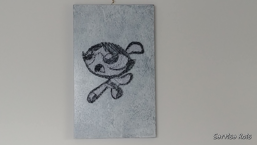 molly-powepuff-girl-string-art