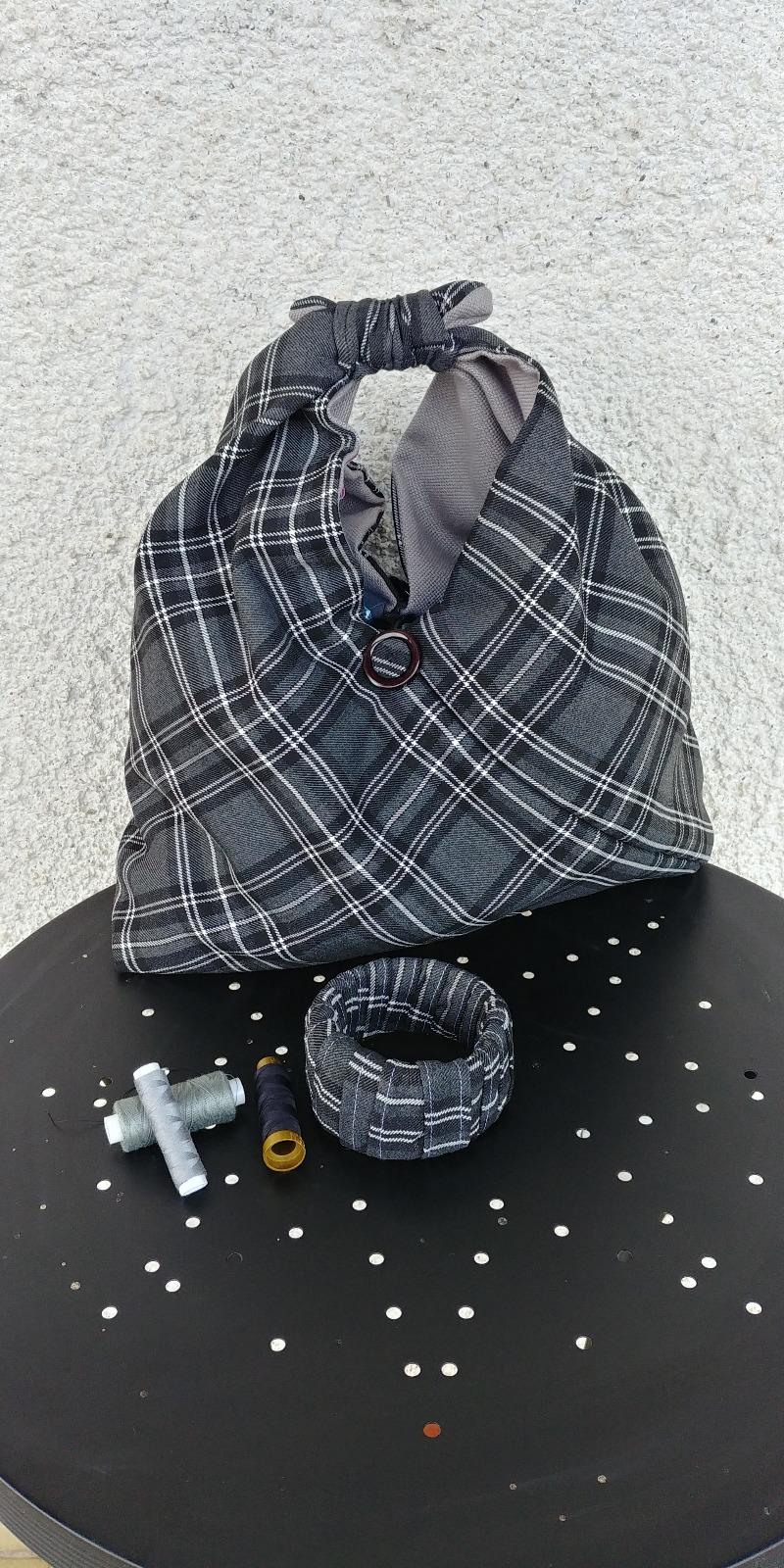 sac-tartan-gris-origami