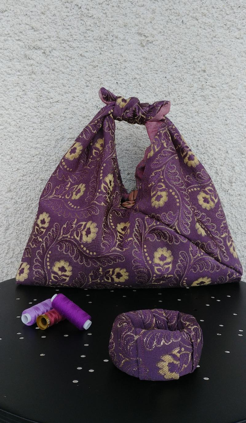 bag-plum-damask-origami